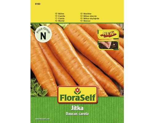 FloraSelf semințe de morcovi 'Jitka'