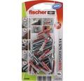 Dibluri plastic cu surub Fischer DuoPower 5x25 mm, pachet 18 bucati