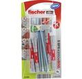 Dibluri plastic cu surub Fischer DuoPower 8x65 mm, pachet 4 bucati