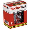 Dibluri plastic cu șurub Fischer DuoPower 12x60 mm, 10 bucăți
