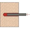 Dibluri plastic pentru mortar chimic Fischer FIS-E 8x80 mm, 4 bucati