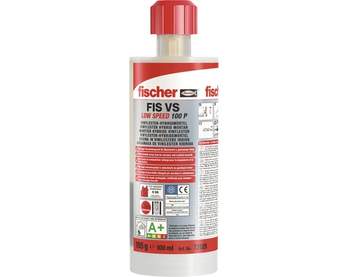 Mortar pentru ancora chimica Fischer FIS VS Low Speed 100ml