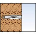 Dibluri plastic fara surub Fischer FU 6x35 mm, 20 bucati