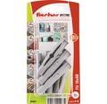 Dibluri plastic fara surub Fischer FU 10x60 mm, 6 bucati