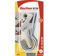 Dibluri plastic cu carlig rotund Fischer SX 10x50 mm, 2 bucati