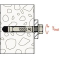 Ancore conexpand cu camasa Fischer TAM Ø12x56 mm, filet metric M8, 50 bucati, fara surub