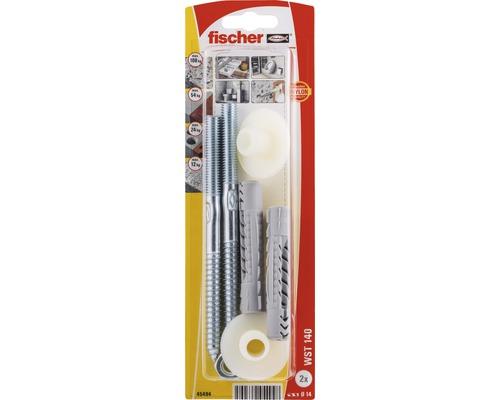 Set pentru montaj lavoare Fischer WST140 Ø14mm, filet metric M10, 2 piese