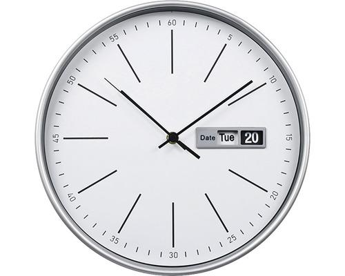 Ceas perete Time alb Ø 30 cm