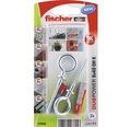 Dibluri plastic cu ochi Fischer DuoPower 8x40 mm, pachet 2 bucati