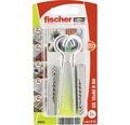 Dibluri plastic cu cârlig rotund Fischer UX 10x60 mm, pachet 2 bucăți