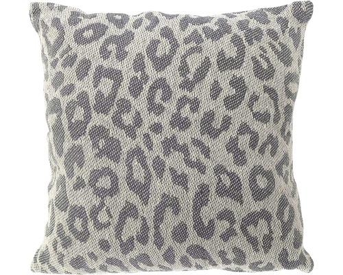 Pernă Leopard gri 45x45 cm