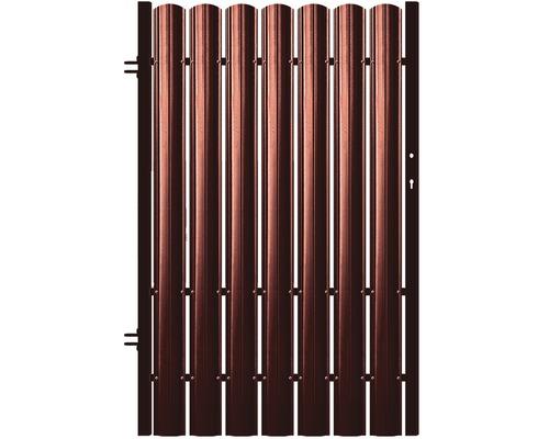 Poarta pietonala Baufence, 1250 x 970 mm, deschidere stanga, rosu