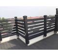 Profil gard gri WPC 24x120x4000 mm