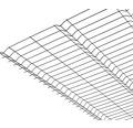 Panou gard 3D bordurat zincat 1530x2510 mm, 5 mm verde