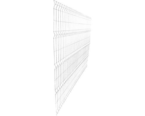 Panou gard 3D bordurat zincat 2030x2510 mm, 5 mm argintiu