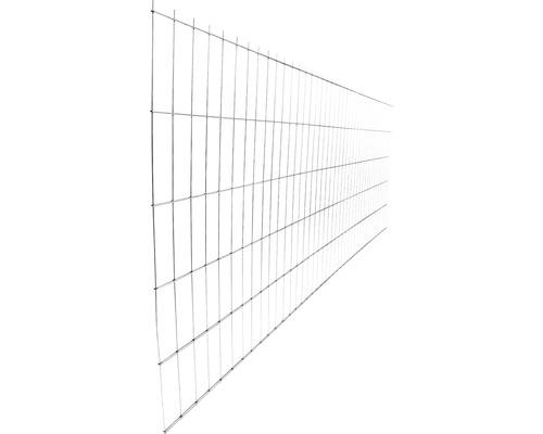 Panou gard 2D zincat 1030x2510 mm, 5/4/5 mm argintiu
