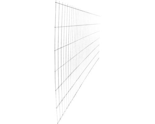 Panou gard 2D zincat 1230x2510 mm, 5/4/5 mm argintiu