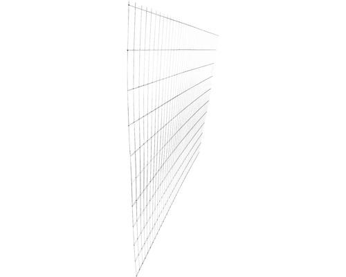 Panou gard 2D zincat 2030x2510 mm, 5/4/5 mm argintiu