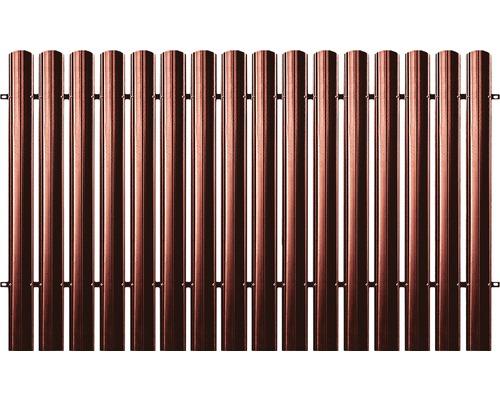BFENCE panou drept 125x200 cm roșu