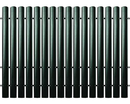 BFENCE panou drept, 175x200 cm, verde