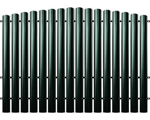 BFENCE panou semirotund 190x200 cm verde