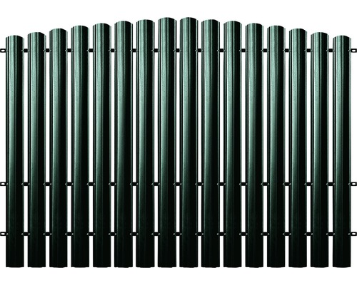 BFENCE panou semirotund 215x200 cm verde