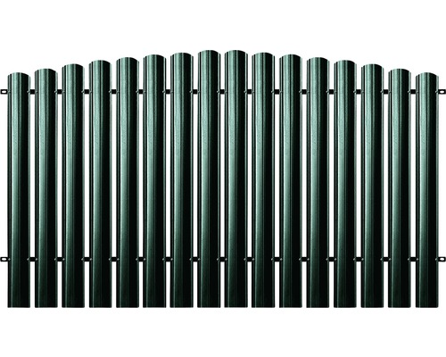 BFENCE panou semirotund 140x200 cm verde