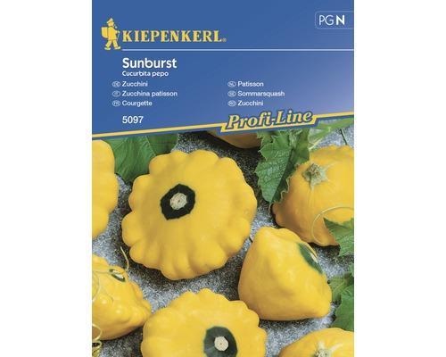 Semințe de legume Kiepenkerl, dovlecel galben Sunburst