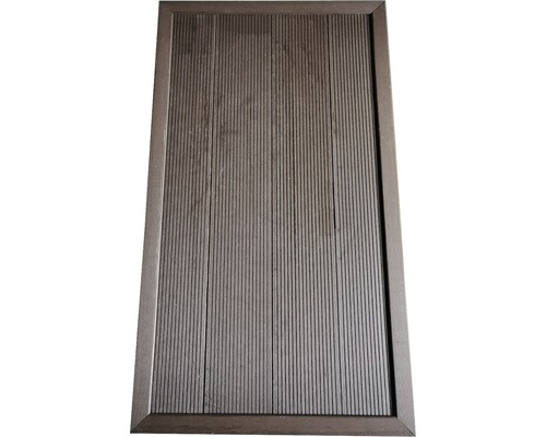 Placa pentru dus gradina protectie gazon 5,5x101x63 cm