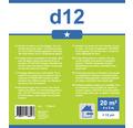 Folie de protectie HDPE Premium 4x5 m 20 m² transparenta
