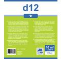 Folie de protectie HDPE Premium 4x2,5 m 10 m² transparenta
