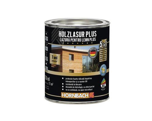 Lazura pentru lemn Plus RAL 7016 antracit 750 ml