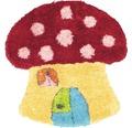 Covor pentru copii Puffy in forma de ciuperca 80x80 cm