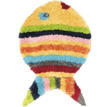 Covor pentru copii Puffy în formă de pește 80x100 cm