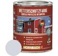 Vopsea de protectie a lemnului impotriva intemperiilor Wetterschutz gri argintiu 2,5 l