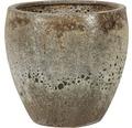 Ghiveci plante 'Melbourne', ceramica, Ø 37 cm, h 33 cm maro antichizat