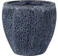 Ghiveci plante 'Melbourne', ceramica, Ø 37 cm, h 33 cm albastru antichizat