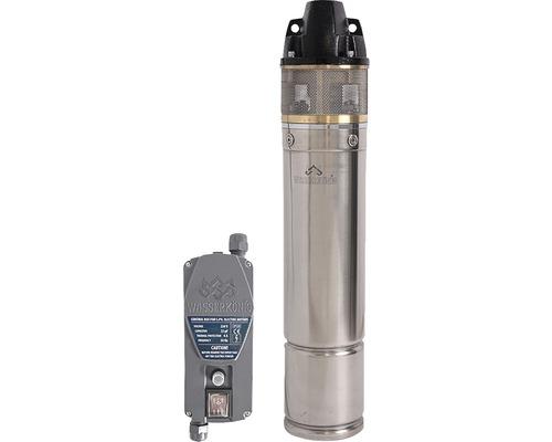 Pompă submersibilă pentru apă curată inox 1200 W, 2900 l/h, H 66 m