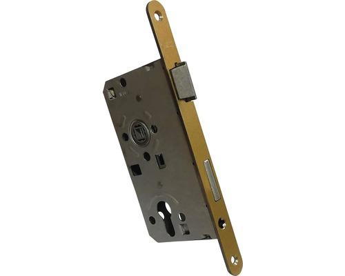 Broasca ingropata usa intrare Abus ES 55x72 mm, dreapta, pentru cilindru, auriu