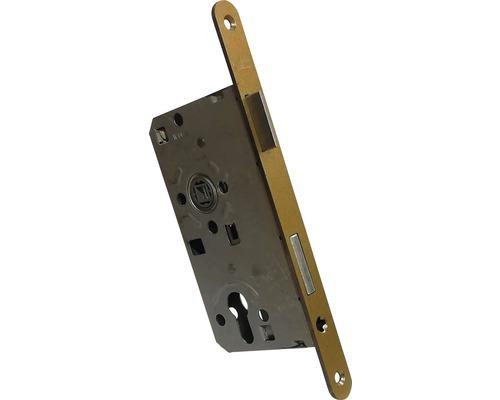 Broasca ingropata usa intrare Abus ES 55x72 mm, stanga, pentru cilindru, auriu