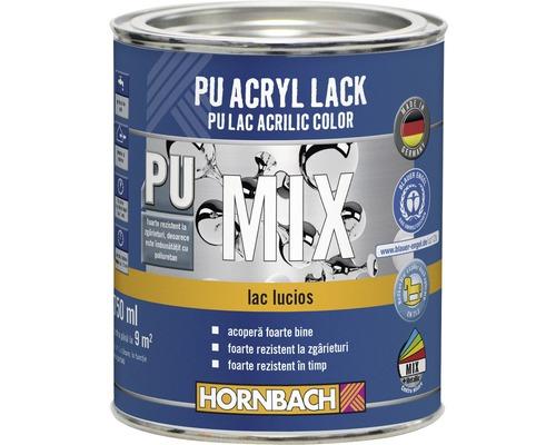 Lac PU acrilic color, lucios, baza C in nuanta dorita 750 ml