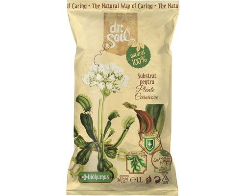 Substrat pentru plante carnivore Dr. Soil 1 l