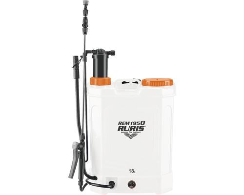 Pompa de stropit electrica manuala Ruris REM1950, 18 l
