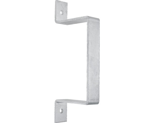 Profil rigla de gard, simplu zincat termic, 40x320