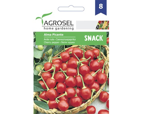 Seminte de legume Agrosel, ardei iute Alma PG8