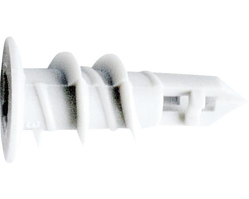 Dibluri plastic autoforante fara surub, 1000 bucati, pentru gipscarton