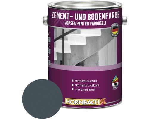 Vopsea pentru pardoseli RAL 7024 gri grafit 2,5 l