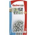 Dibluri plastic tip floare Fischer A4 Ø8x20 mm, 20 bucati, pentru perete fals