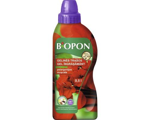 Îngrășământ lichid Biopon pentru mușcate 0,5 l