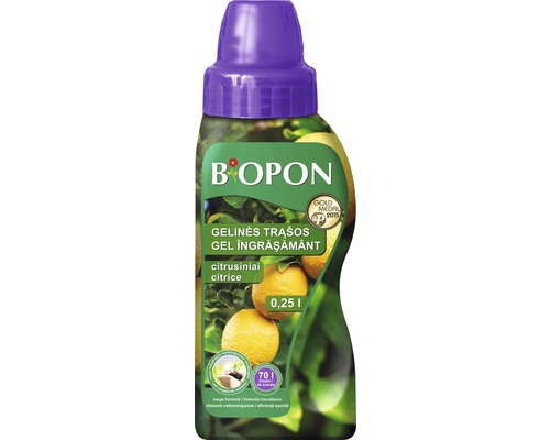 Ingrasamant lichid Biopon pentru citrice 0,25 l